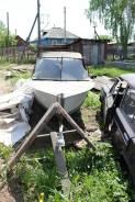Лодка МКМ с прицепом и мотор ямаха 25 2-х тактный