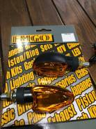 Поворотники EMGO Deco black/amber