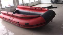 Лодка ПВХ REEF 390 НД в Новосибирске (с фальшбортом)