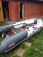 Продам лодку ПВХ Посейдон Касатка-385 спорт
