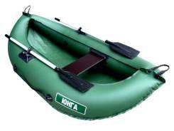 Лодка надувная гребная Юнга 200 зелёный 2м