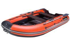 Лодка надувная моторная Admiral 320C с НДНД 3,2м красный/чёрный