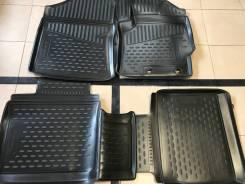 Коврики в салон Toyota Corolla Fielder 2012 - 2019 год Резиновый