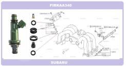 Комплект колечек топливной форсунки на 6 штук EZ30D
