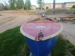 Лодка Казанка с мотором 15 л. с.