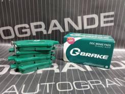 Колодки тормозные передние G-Brake GP02183