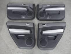 Обшивки дверей комплект (кожа) контрактные Nissan X-Trail-31
