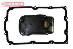 Фильтр АКПП с резиновой прокладкой (с втулками) COB-WEB 113040+W