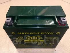 Мото аккумулятор WBR 12-18 (YTX20L-BS, YTX20HL-BS, YB16CL-B) 18Ач AGM