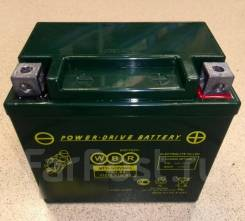 Мото аккумулятор WBR 12-5 (YTX5LBS, YTZ7S, YT5L-BS) 5Ач AGM