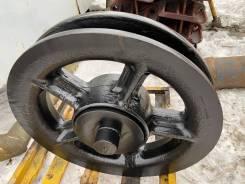 Ленивец, натяжное колесо крана 720.114-10.00 РДК-250 (25 тонн)