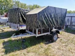 Прицеп СПец-05 кузов 1,50*2,50 высота борта 40, с тентом