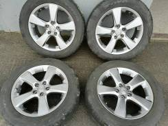Оригинальные литые диски Тойота Харриер R18, 5/114