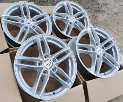 Новые литые диски К7 на Skoda Octavia A5, А7, VW Jetta R16