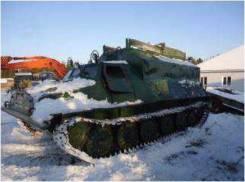 Гусеничный транспортер-тягач ГТ-Т, В г. Омске, 2004
