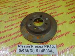 Диск тормозной Nissan Presea Nissan Presea 07.1991, левый передний