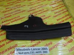 Накладка на порог Mitsubishi Lancer Mitsubishi Lancer 10.2005, правая задняя