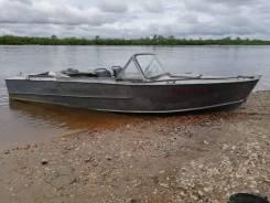 Лодка прогресс водомет