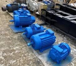 Электродвигатель MTF-311M6 поворота крана ДЭК-251 после ревизии
