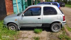 Стекло двери левой Nissan March/Micra K11 3 дверка