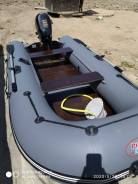 Продается моторная лодка Prof Marine 320 и лодочный мотор suzuki DF4.