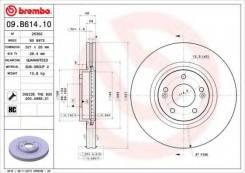 Диск тормозной Standard | перед | Brembo [09B61410]