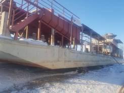 Сухогрузная палубная баржа г. п. 200 тн