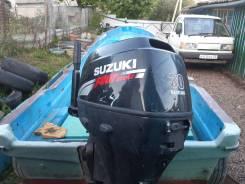 Шхуна рыбатская с мотором Suzuki DF 30