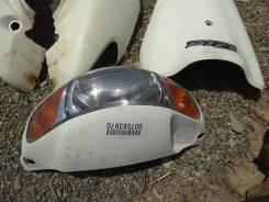 Фара с пластиком б. у. Япония на мопед ДИО АФ 34 белый цвет