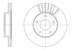Диск тормозной вентилируемый G-brake GR-20831