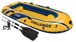 Надувная лодка Intex Challenger 3 , 295*137*43см.