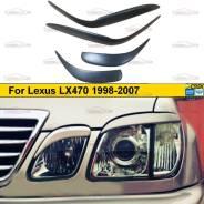 Реснички на фары для Lexus LX470 1998-2007