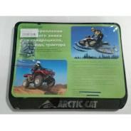 Рамка для номера Arctic Cat для снегохода и квадроцикла. Черный