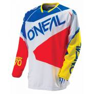 Джерси Oneal Hardwear-FLOW red-blue. XXL. Красный-синий