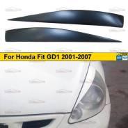 Реснички на фары для Honda Fit GD1 2001-2007