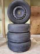 Колеса: Шины Dunlop Enasave ec203. 195/65R15 + Штамповка 5x100