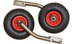Транцевые колеса нержавейка