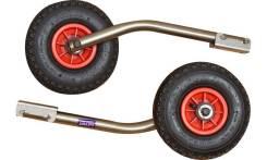 Транцевые колеса нержавейка удлиненные