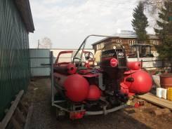 Продам ПВХ лодку фрегат430 с мотором меркури