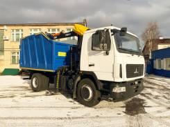 Коммунальный ломовоз на шасси МАЗ 5340С2, 2020