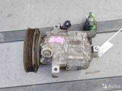 Компрессор кондиционера Nissan March k12