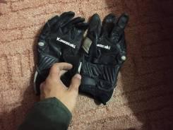Перчатки мото Kawasaki