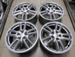 """Оригинальные 16"""" Subaru (5*100) 6.5j et+55 цо56.1мм"""