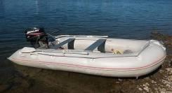 Продам лодку ПВХ Badger Sport Line 430AL с мотором Mercury ME30M 30лс