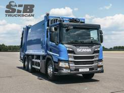 Scania P340 6x2*4 CNG, 2021