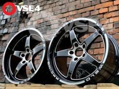 NEW! Разноширые! # WELD Racing Forged U. S. R18 5x114,3 Black [VSE-4]