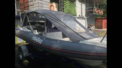 Продам Лодку SKYboat SB R5A Риб + Мотор Honda BF90DK2 в Барнауле