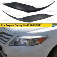 Реснички на фары Toyota Camry ACV40 рестайлинг 2009-2011