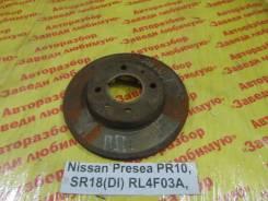 Диск тормозной Nissan Presea Nissan Presea 07.1991, правый передний