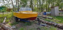 Продам моторную лодку Прогресс 4
